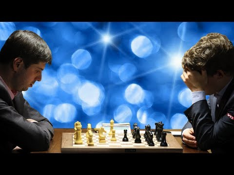 Peter Svidler vs. Magnus Carlsen - 2013 FIDE Candidates Chess Tournament - Round 6