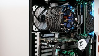 Futuristic looking Thermaltake CPU cooler. Almost AWESOME!