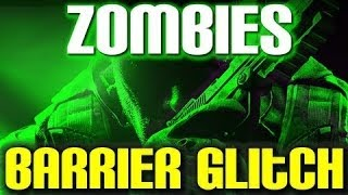 COD: Black Ops 2 - Zombies Barrier Glitch! - Survival/Town (Unlimited Rounds)