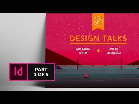 How to Create a Postcard in InDesign CC (1/5) | Adobe Creative Cloud