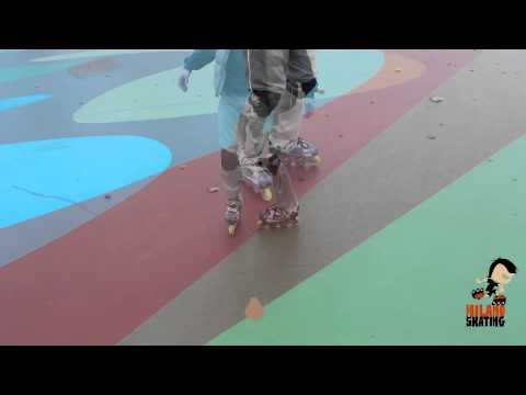 Milanoskating Freestyle: Compasso avanti indietro spin