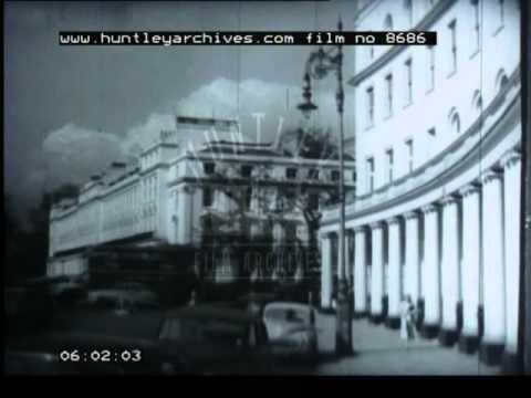 History and Design of London Transport, 1950's - Film 8686