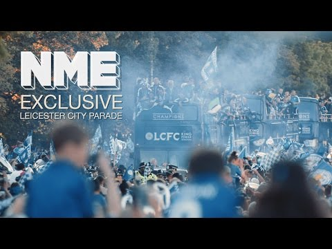 Leicester City FC Parade: Kasabian surprise fans with triumphant homecoming show