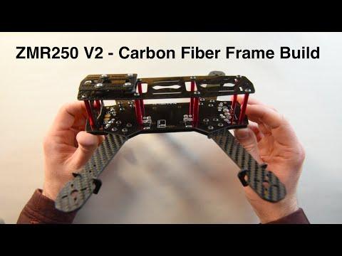 ZMR250 V2 Carbon Fiber Frame Assembly Walk Through/Overview //FPV //Racing //Banggood