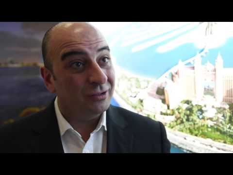 Kyp Charalambous, director of sales, Atlantis the Palm Dubai