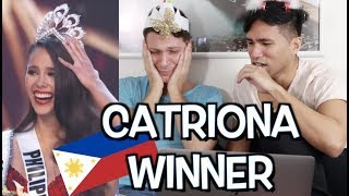 Catriona Gray WINS Miss Universe 2018! Congrats, Cat! 🎉 | Reaction