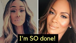 Basketball Wives Tami and Evelyn fight ESCALATES to new levels!