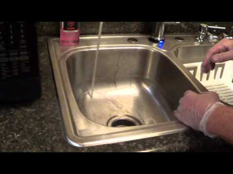 Unclog a Kitchen Sink - Grease Clog