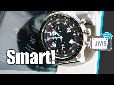 Um Relogio Inteligente Bonito e Barato Y3 SmartWatch