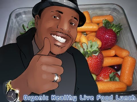 Organic Healthy Live Food Lunch