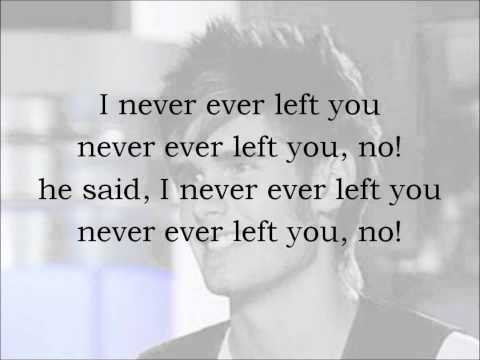 Never Gone - Colton Dixon With Lyrics