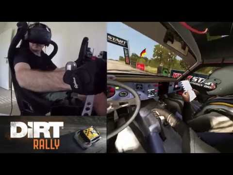 Dirt Rally + Motion + VR