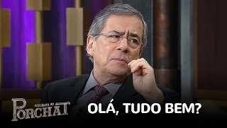 """Paulo Henrique Amorim explica como surgiu o """"olá, tudo bem?"""""""