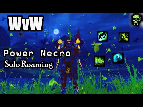 GW2 - WvW Power Necro Solo Roaming - 600 Subscriber Special!!! - Spectralmancer Build