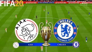 FIFA 20 | Ajax vs Chelsea - UEFA Champions League - Full Match & Gameplay