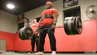Akim Williams and Marc Lobliner Back Workout