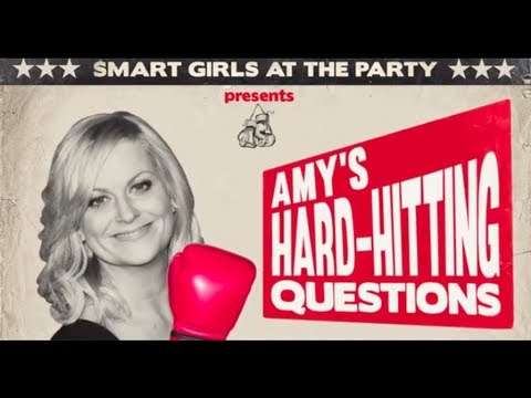 Amy Poehler's HARD HITTING QUESTIONS