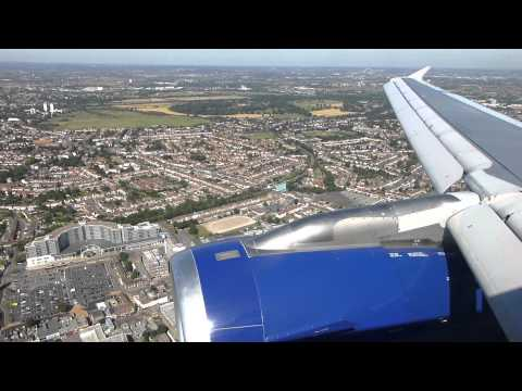 Sightseeing Alert! BA A319 Landing In Heathrow Over City Of London (September 7th, 2012)