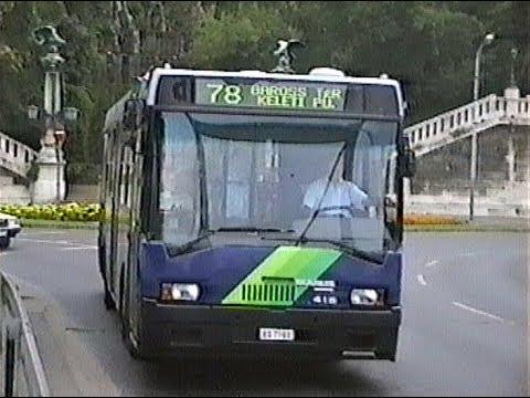 1995.08.20. Buszok és villamosok a belvárosban  (Döbrentei - Blaha - Astória) -Nagy Zsolt Levente-