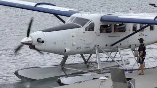 DHC-3T Vazar Turbine Otter Engine Start-Up & Takeoff