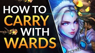 How SUPPORT PROS CARRY WITH WARDS: Warding Tips for TOTAL MAP CONTROL | Dota 2 Pro Guide