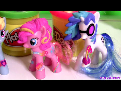 New McDonald's Happy Meal Toys My Little Pony MLP Rainbow Power Play Doh Pinkie Pie 2014