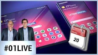 Samsung va dévoiler son smartphone pliable le 20 février ! - 01LIVE HEBDO #214