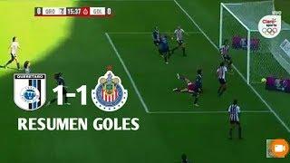 Queretaro vs Chivas 1-1 | Resmen Y Goles | Liga MX Femenina 06-01-2018