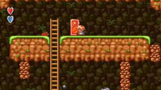 Super Mario Bros.2 (SNES) World 1