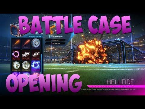 BATTLE CASE OPENING #13 - ROCKET LEAGUE [FR]