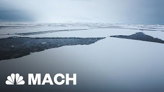 91 New Volcanoes Discovered Underneath The Antarctic Ice | Mach | NBC News