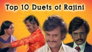 Kazhugu - Top 10 Duets of Rajini   Tamil Movie Audio Jukebox