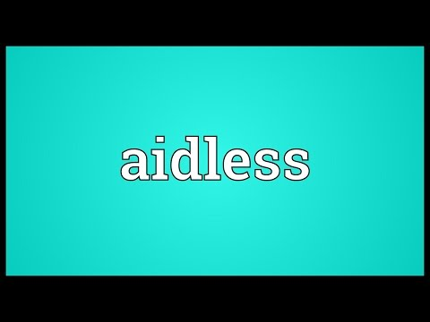 Header of Aidless