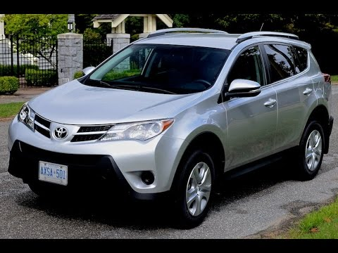 2015 toyota rav4 review youtube