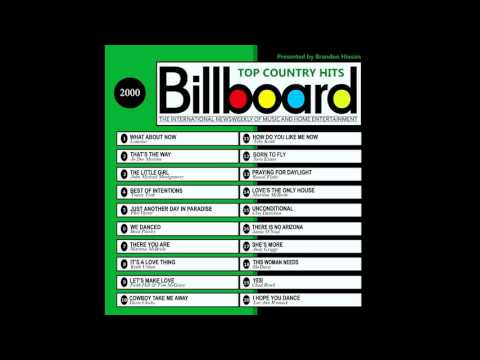 Billboard Top Country Hits  2000