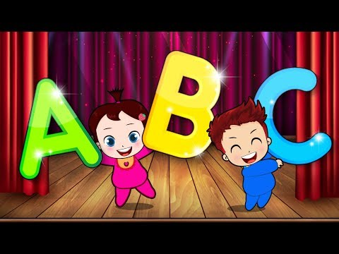 Cartoons Sun & Moon Sing ABC SONG  ABC Songs for Children  Popular Kids Songs  Angel Kids Song