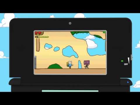 Adventure Time Il videogame per DS e 3DS:Trailer ufficiale+data di uscita+info in descrizione!!!