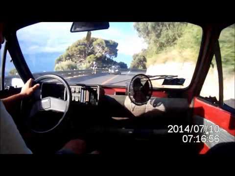 Fiat Panda 30 top speed camera car engine overtake