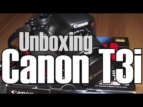 Unboxing Canon T3i En Español