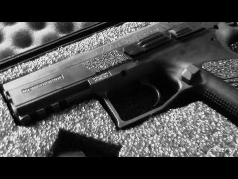 CZ75 P-07 Duty 9mm Review   One Fine Firearm