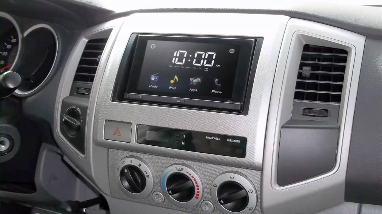 Metra Toyota Tacoma 2005 2011 95 8214 Dash Kit Youtube