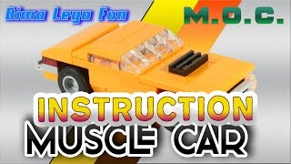 Lego Mini Muscle Car How to build Lego Лего самоделка Мини Масл кар