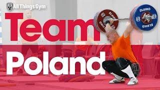 Team Poland Training Hall 2016 European Weightlifting Championships