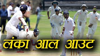 India vs Sri Lanka 1st Test: SL 291 all out, Ravindra Jadeja 3-67 | वनइंडिया हिंदी