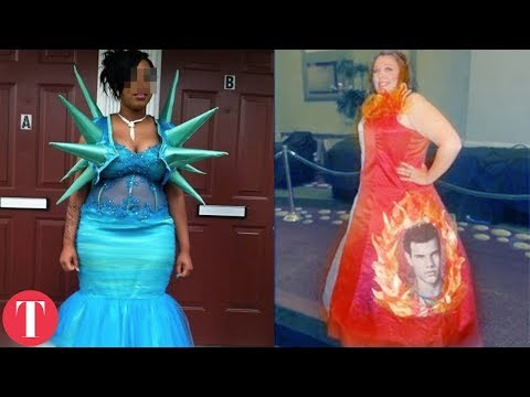 10 Really Bad Prom Dresses thumbnail
