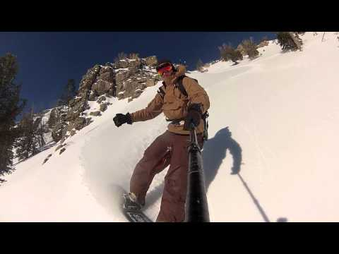 Back To Jensen Via East Ridge Jackson Hole Backcountry snowboarding