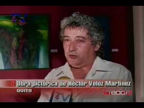 Obra pictórica de Héctor Veloz Martínez