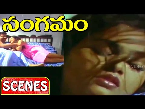 Sangamam Movie Scenes ||  Silk Smitha Back To Back Superb Glamour Scenes thumbnail