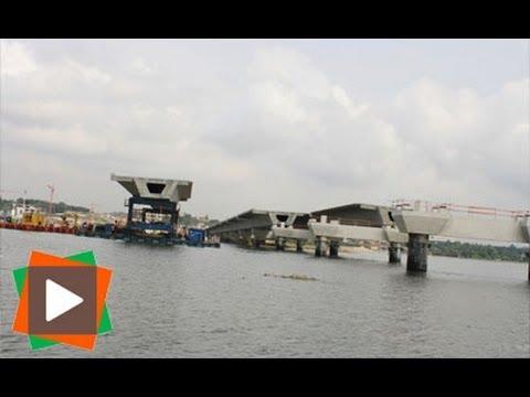 Reportage: Au coeur du chantier du 3eme pont d'Abidjan