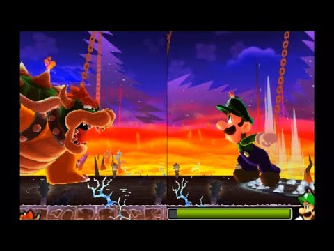 Mario and Luigi: Dream Team - All Boss Fights (Hard Mode)